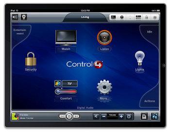 iPad como control de la Domótica